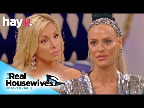 Camille Grammer Confronts 'Phoney' Dorit Kemsley   Season 9   Real Housewives Of Beverly Hills