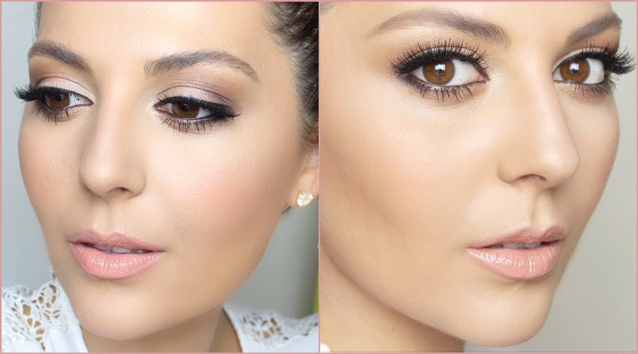 Bridal and Bridesmaid Makeup: Lilly Ghalichi Inspired - YouTube