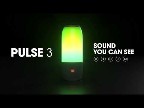 JBL Pulse 3 | Sound you can see.