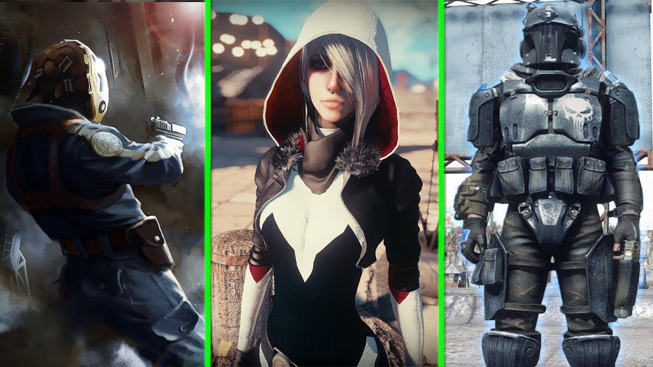 Best Fallout 4 Mods Xbox One 2020.Fallout 4 Top 5 Best Armor And Outfits Cosplay Mods Mods Of Week 5 Xbox One Pc