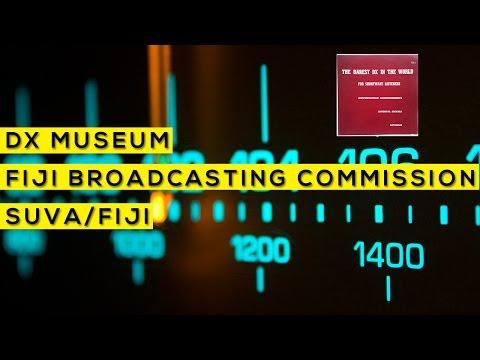 Os DX mais raros do mundo - Fiji Broadcasting Commission