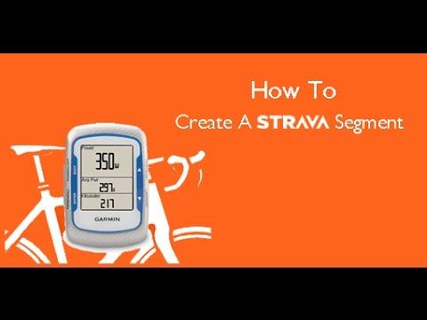 How To Create A Strava Segment