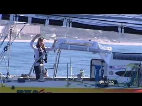 Sailor Abby Sunderland WildEyes Interview pre mid voyage