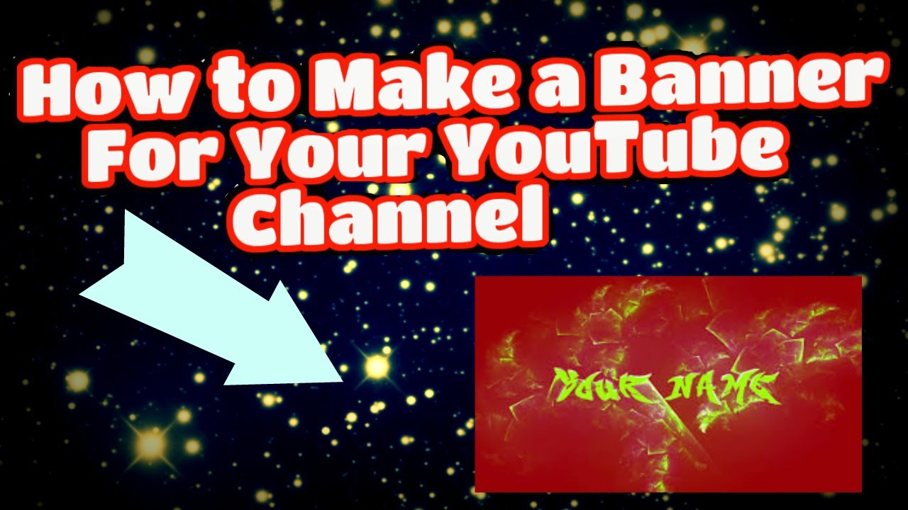 how to make channel art for free