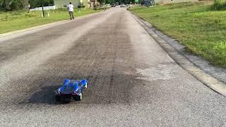Traxxas XO 1 132ft. drag testing