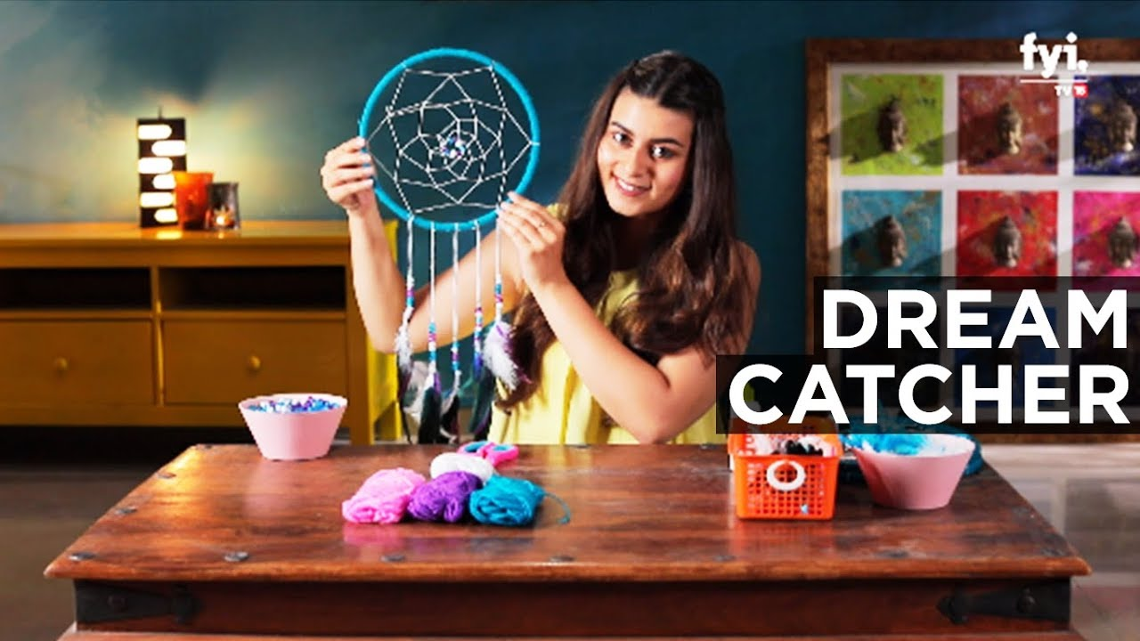 Diy With Sabrina Dreamcatcher Youtube