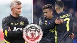 Man Utd boss Ole Gunnar Solskjaer issued Paulo Dybala warning because of Cristiano Ronaldo- trans...