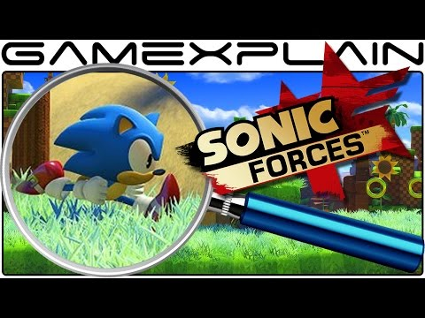 Sonic Forces ANALYSIS - Classic Sonic's Green Hill Gameplay (Secrets & Hidden Details)