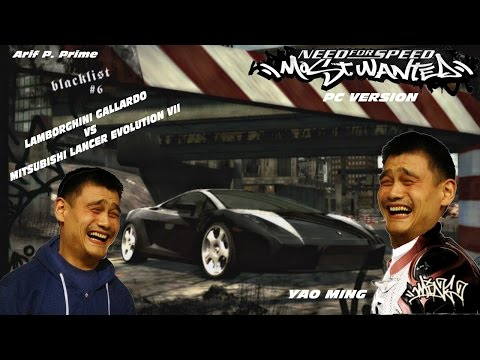 Yao Ming Pembalap??? - Blacklist 6 - NFS Most Wanted 2005 PC Version