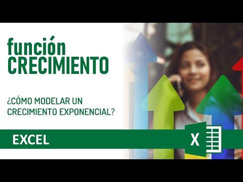 Excel - función crecimiento - YouTube