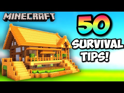 50-easy-minecraft-survival-tips!-ultimate-guide-2019