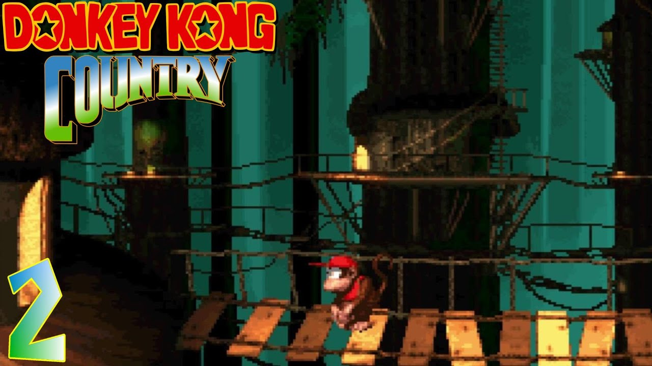 Donkey Kong Country [2] - Vine Valley