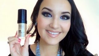 makeup forever hd foundation review demo