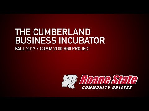 About the Cumberland Business Incubator