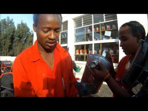Africa Overland on Small Motorbikes