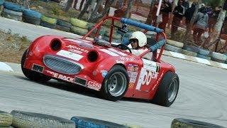 Barkev Shadian Austin healey sprite 1959 autocross race