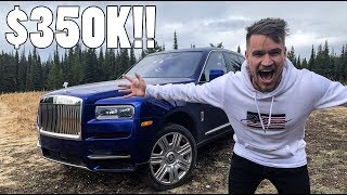 $350,000 Rolls Royce Cullinan On Safari!!