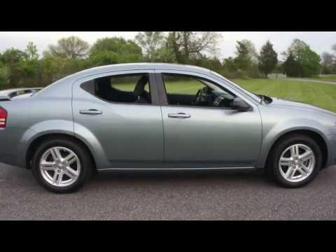 2009 Dodge Avenger SXT For Sale~Blue/Black~Low Miles~Salvage Title From Sandy Storm