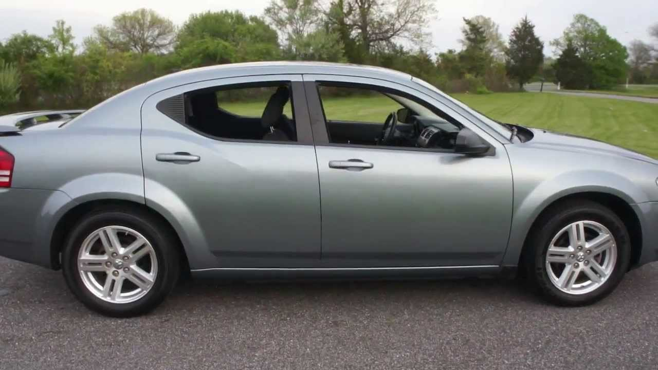 2009 Dodge Avenger SXT For Sale~Blue/Black~Low Miles ...