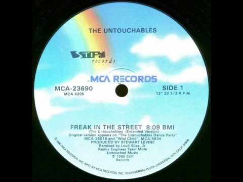 Untouchables - Freak In The Street (MCA Records-1986)