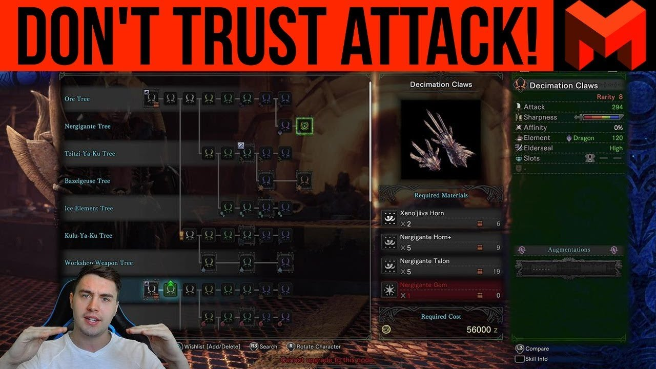 Damage Explained: Don't Trust Attack Values (Monster Hunter World)