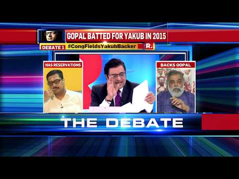 M.R. Venkatesh gives his take on #CongFieldsYakubBacker | Republic TV