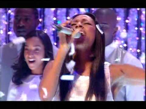 ALEXANDRA BURKE ON CHRISTMAS TOP OF THE POPS 2008 SINGING HALLELUJAH HQ