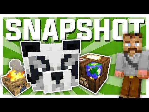 Sniktitt på MINECRAFT 1.14 (snapshot) | Minecraft Vanilla #22