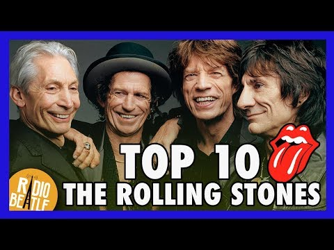 TOP 10 Canciones de THE ROLLING STONES | Radio-Beatle