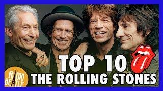 TOP 10 Canciones de THE ROLLING STONES | Radio-Beatle