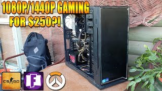 1080p/1440p Gaming For 250?!? (i7 3820  GTX 960 2GB)