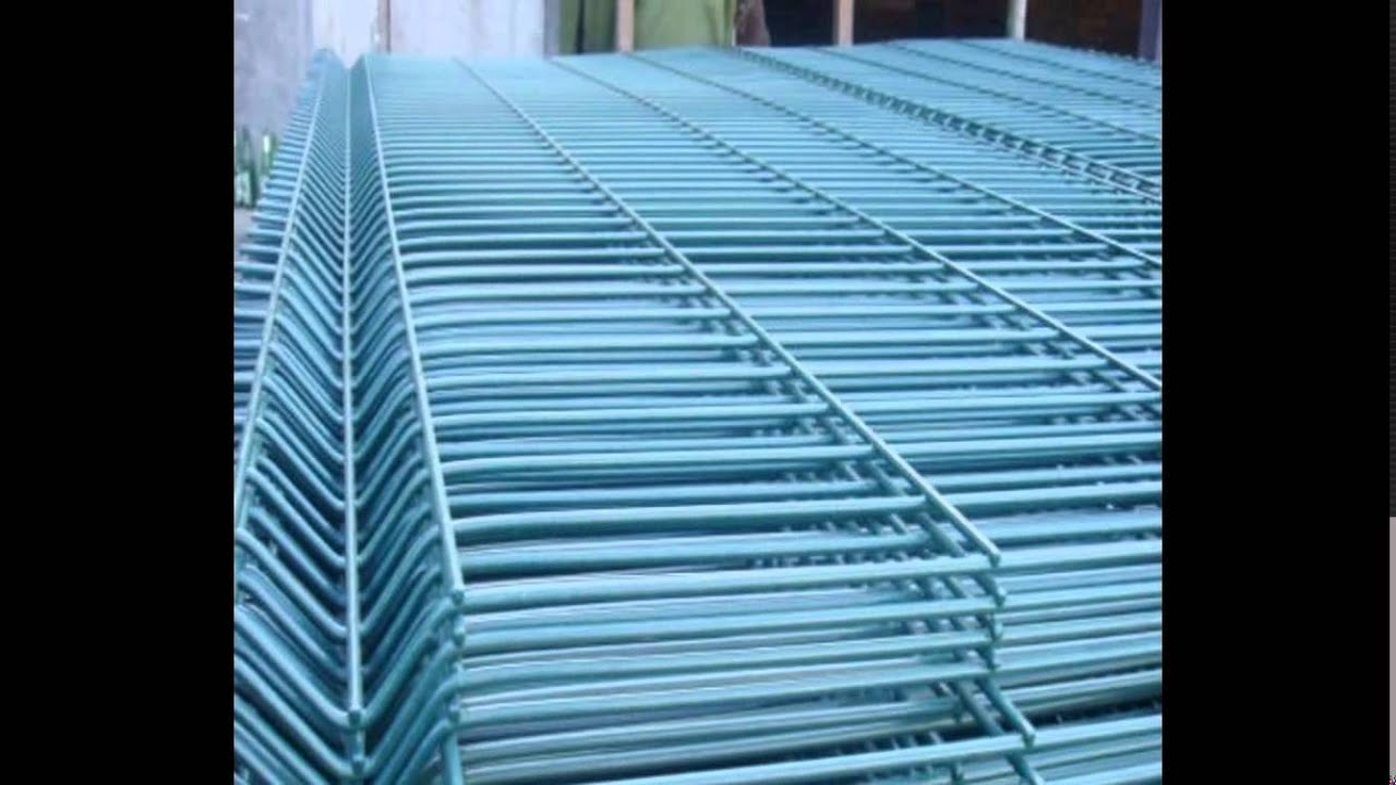 PVC/PE powder coated welded wire mesh fence,Vinyl coated wire fence ...