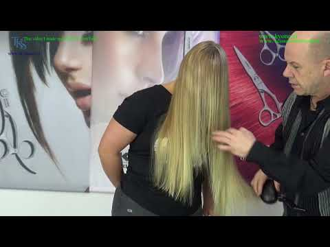 Long Hair Cutting Tutorial