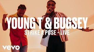 Young T & Bugsey - Strike A Pose (Live) | Vevo DSCVR