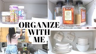 KITCHEN ORGANIZATION AND IDEAS 2019 | DECLUTTER AND ORGANIZE WITH ME 2019 | DITL | CRISSY MARIE