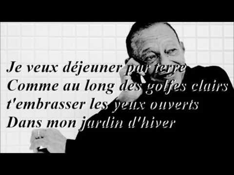 Karaoké Jardin d'hiver Henri Salvador (+ Intro)