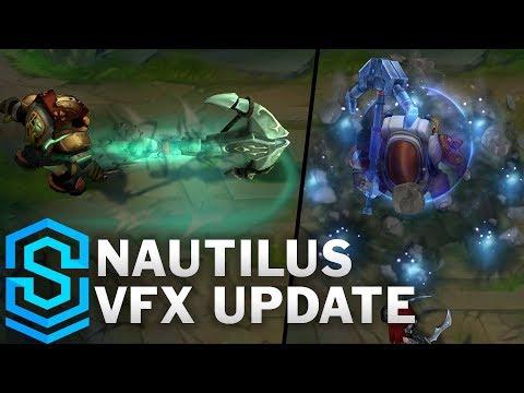 Nautilus Visual Effect Update Comparison - All Skins   League Of Legends
