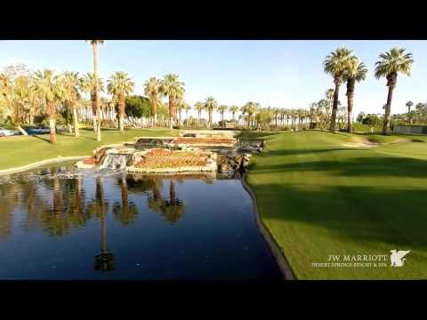 JW Marriott Palm Desert Aerial Production by http://www.digipulse.com