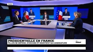 Présidentielle en France : Fillon s'excuse et maintient sa candidature (partie 1)