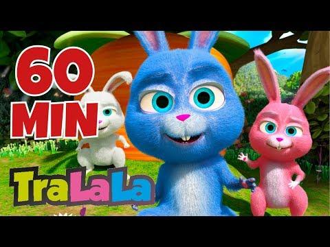 Iepurași Drăgălași 60 MIN - Cântece Pentru Copii | TraLaLa
