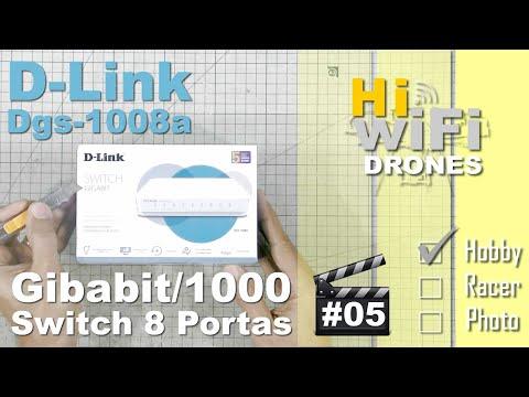 Unboxing - D-Link Switch 8 Portas Gigabit 10/100/1000 - 05 De Dicas & Generalidades