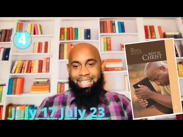 Something New Sabbath School Lesson 4 Qtr.3 July 21, 2021