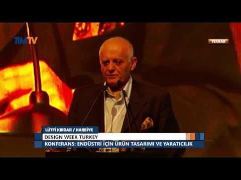 Design Week Turkey - Prof. Önder Küçükerman Endüstri İçin Ürün Tasarımı ve Yaratıcılık