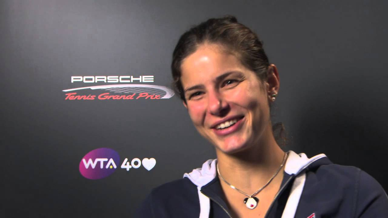 Interview Julia Goerges Ger Porsche Tennis Grand Prix 2013