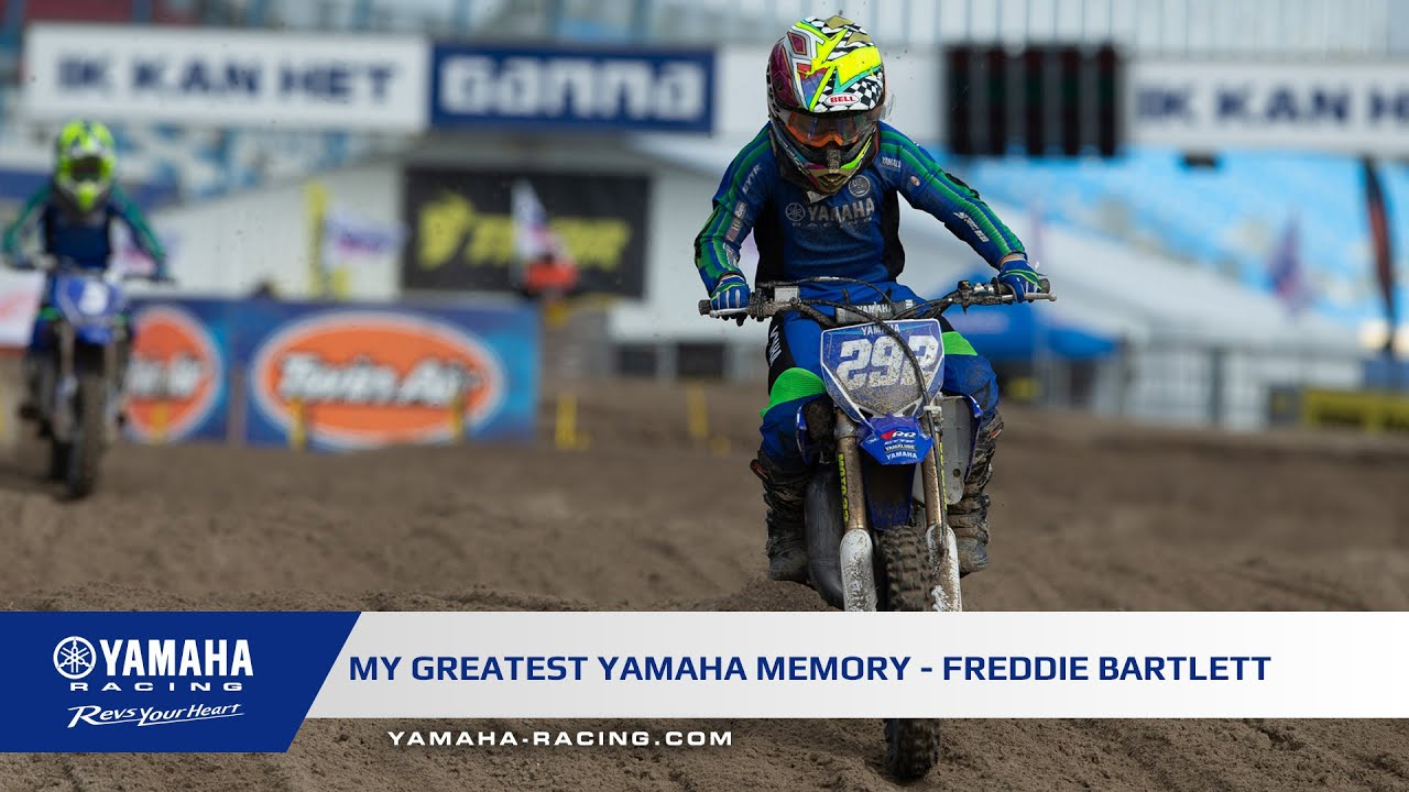 My Greatest Yamaha Memory - Freddie Bartlett