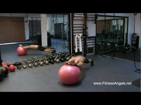 Top 10 Swiss Ball Exercises: Build Strong Core&Full Body Strength