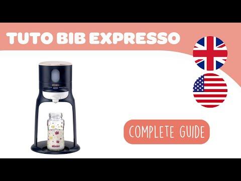 Bib'expresso ® Steril white grey : 3-in-1 baby bottle processor video