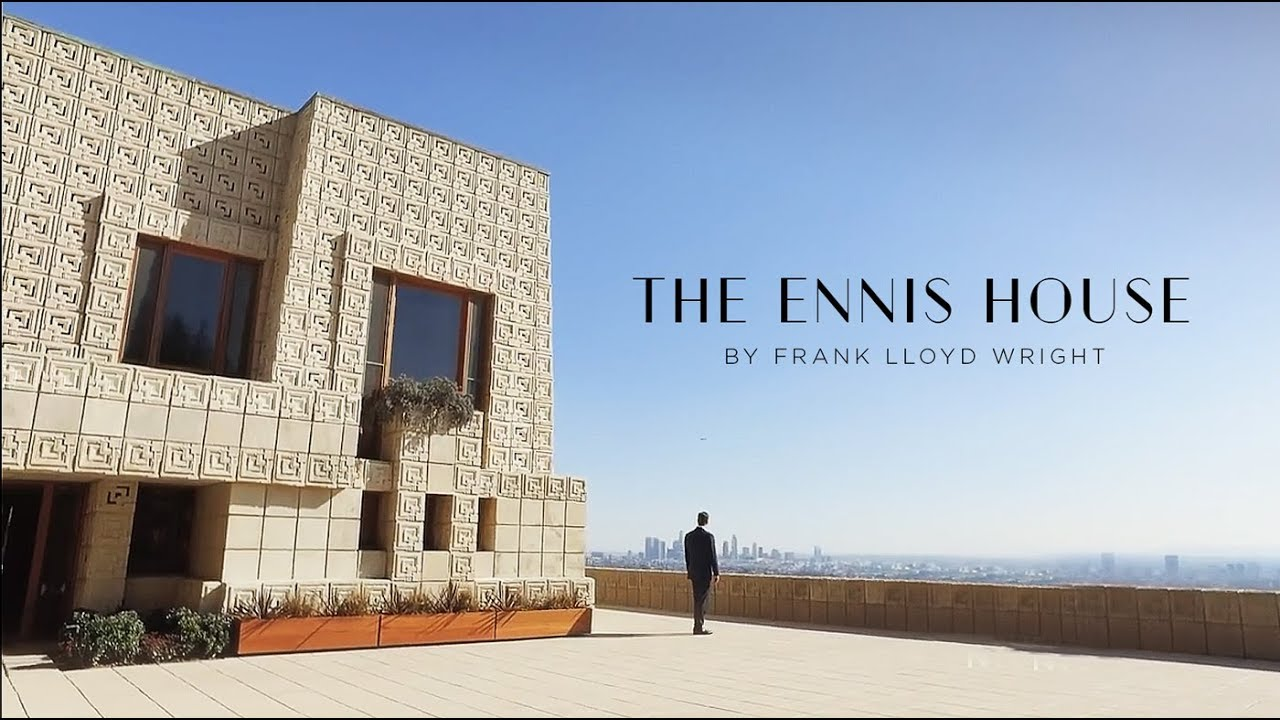 The Ennis House by Frank Lloyd Wright | NBC Open House