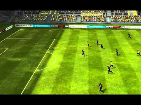 FIFA 14 Android - Cyber FC VS FC Barcelona