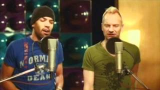 Sting & Craig David - Shape Of My Heart/Rise & Fall (Remix) *STUDIO QUALITY*